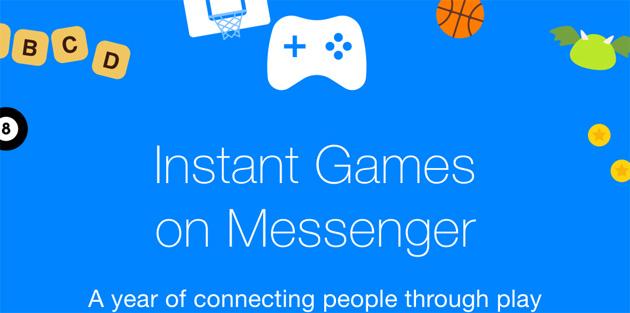 Facebook festeggia un anno di giochi su Messenger con giochi e funzioni nuove