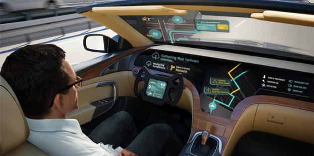 LG con HERE sviluppa una soluzione telematica nuova per veicoli autonomi