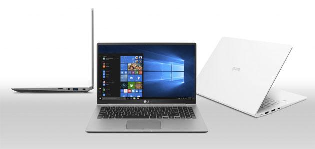 LG lancia tre laptop serie Gram 2018 con Intel Core di 8a Generazione