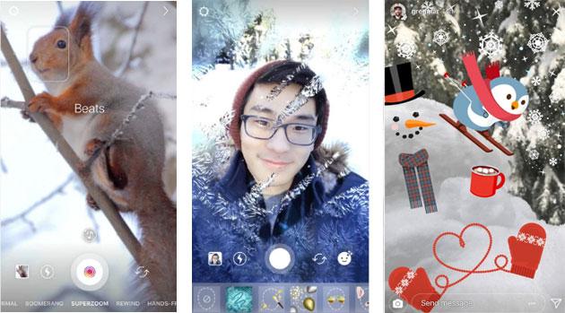 Instagram, nuovi strumenti creativi finire il 2017 divertendosi