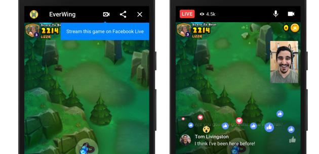 Messenger, come trasmettere giochi in diretta streaming con Facebook Live