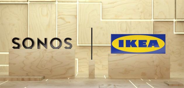 Ikea e Sonos collaborano su prodotti audio per la casa