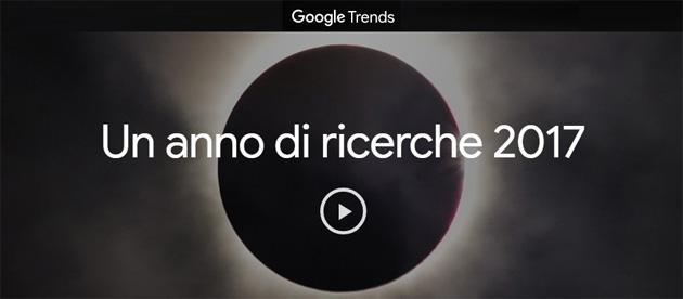 2017 su Google: un anno di Ricerche in Italia e nel Mondo