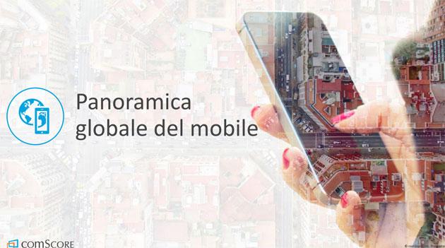 Smartphone, italiani per oltre 6 minuti su 10 online da Mobile