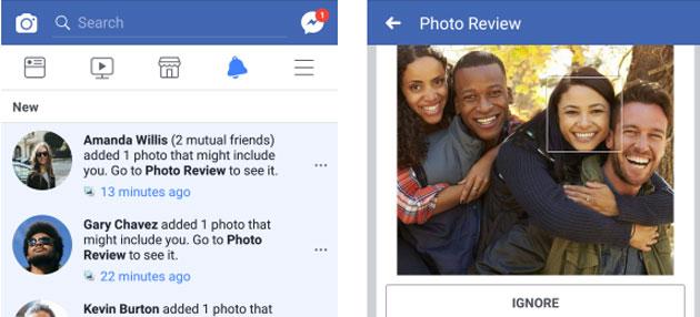 Facebook potenzia il riconoscimento facciale per trovare le foto in cui non si viene taggati
