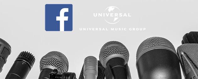 Facebook con Universal Music sigla accordo per la musica nei video degli utenti