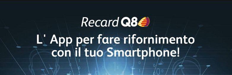 RecardQ8: Fai benzina con il tuo Smartphone