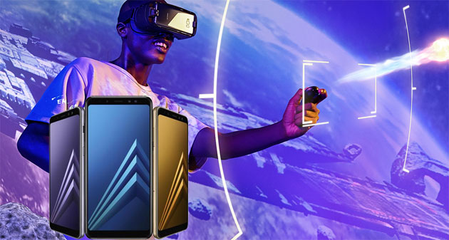 Samsung VR - Video aggiornata per supportare Galaxy A8 (2018)