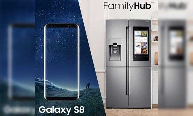 Samsung Galaxy S8 in regalo acquistando un frigorifero Samsung FamilyHub
