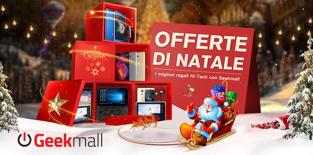 Geekmall prepara numerose offerte per Natale