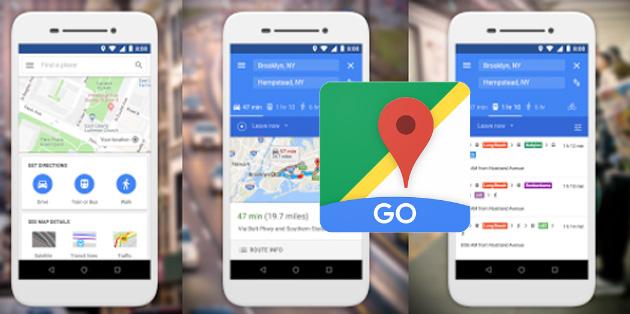 Google Maps Go, versione leggera di Google Maps per Android