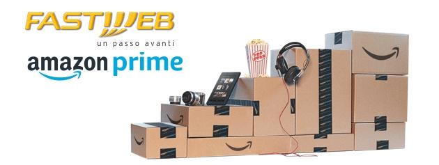Amazon Prime gratis 12 mesi con Fastweb