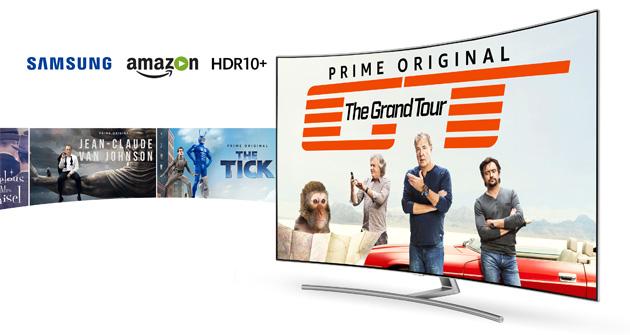 Amazon lancia l'HDR Plus su Samsung Smart TV