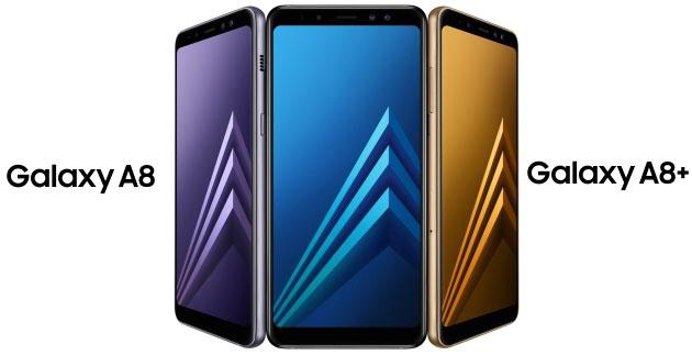 Galaxy A8 (2018) col tasto Home non sensibile alla pressione