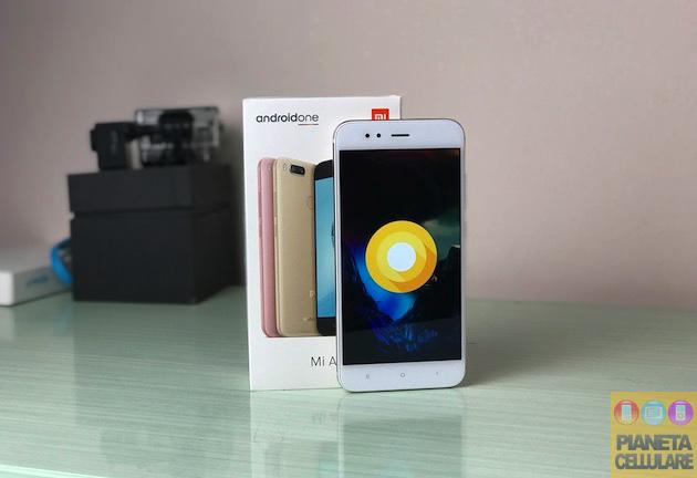 Recensione Xiaomi Mi A1 Android Oreo 8.0 ufficiale