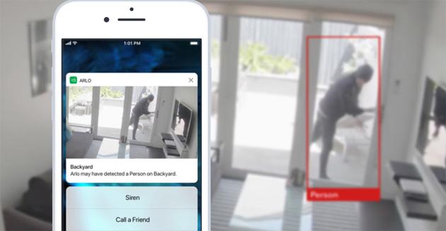 Arlo Smart aggiunge intelligenza alle fotocamere Arlo con zone di attivita' e non solo