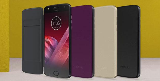 Moto Folio, cover protettiva per smartphone Moto Z con tasca per documenti
