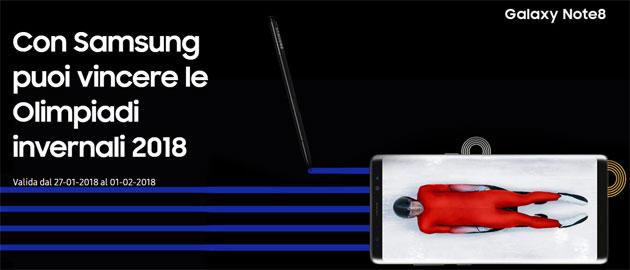 Samsung regala le Olimpiadi invernali 2018 a PyeongChang