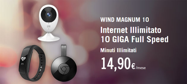 Wind Magnum raddoppia con Wind Plus fino al 2 aprile