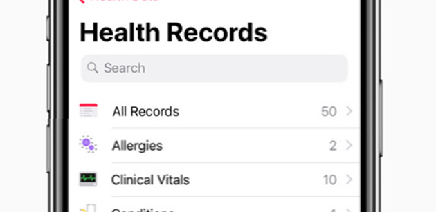 Apple porta le Cartelle sanitarie nella app Salute