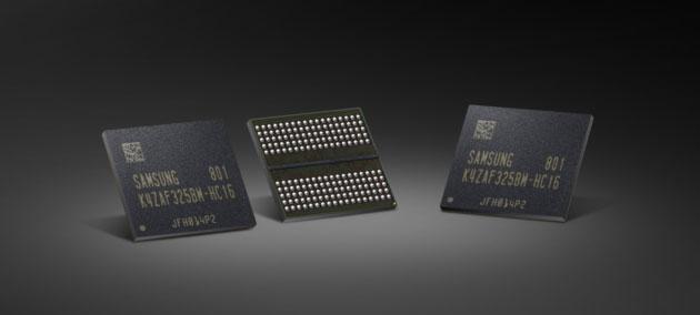 Samsung produce RAM GDDR6 per schede grafiche di prossima generazione