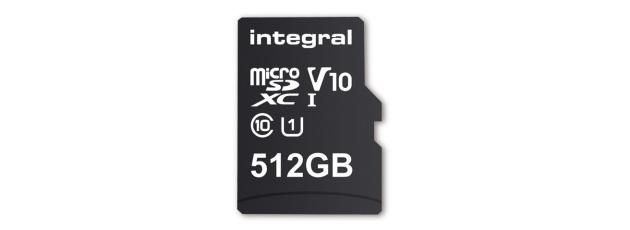 Integral Memory lancia prima microSD da 512 GB