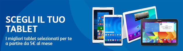 TIM Scegli il Tuo Tablet a rate da 5 euro al mese