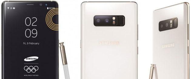Samsung per i Giochi Olimpici Invernali PyeongChang 2018 annuncia App , Galaxy Note8 Limited Edition e Galaxy Team Italia