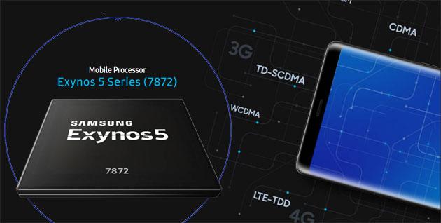 Samsung Exynos 7872, chip di fascia media con supporto per scanner iride