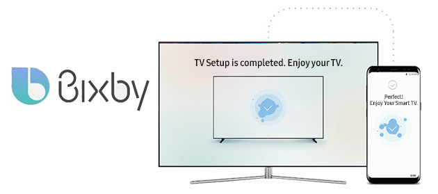 Foto Bixby su Smart TV Samsung dal 2018