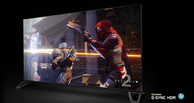 Nvidia BFGD Monitor per gaming 4K HDR con Android TV e Google Assistente