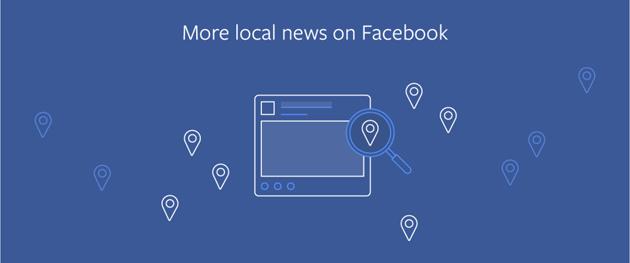 Facebook mostra piu' Notizie Locali nel News Feed