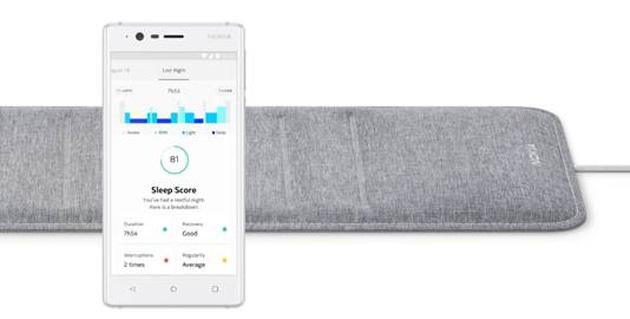 Las Vegas, Nokia presenta il sensore intelligente Sleep