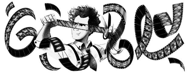 Google Doodle per Sergei Eisenstein a 120 anni dalla nascita