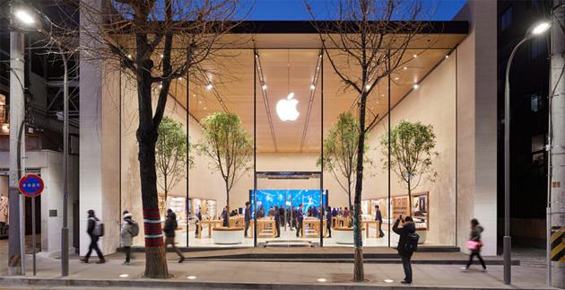 Apple inaugura il primo Apple Store in Corea del Sud