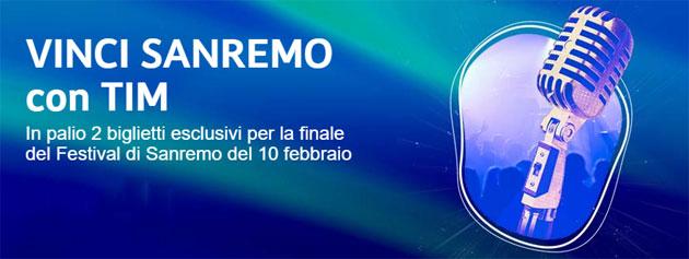 TIM regala Sanremo 2018: come vincere i biglietti della Finale