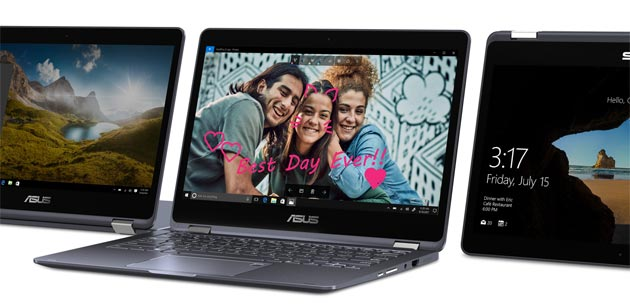 ASUS NovaGo, laptop convertibile con connettivita' Gigabit LTE in Italia con TIM