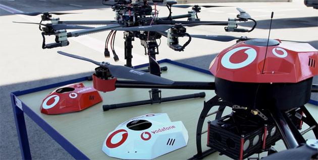 Vodafone sviluppa sistema IoT di monitoraggio droni