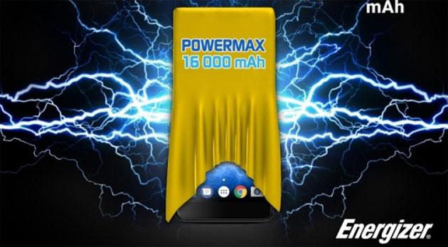 Energizer Power Max P16K Pro, smartphone con batteria da 16000mAh atteso al MWC