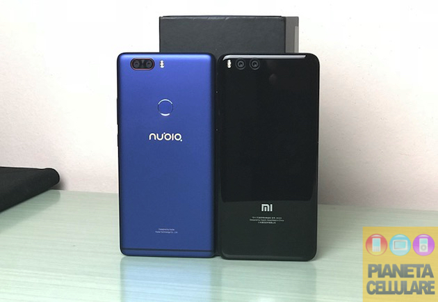Nubia Z17 Lite vs Xiaomi Mi Note 3 Global, confronto video