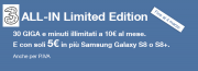 Foto 3 All-In Limited Edition: 30 Giga e minuti illimitati a 10 euro al mese fino al 4 marzo