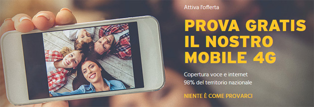 Fastweb Mobile si prova gratis: ecco come