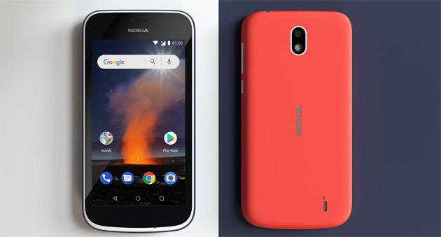 Foto Nokia 1 con Android Oreo Go: Specifiche, Foto, Video e Prezzi in Italia