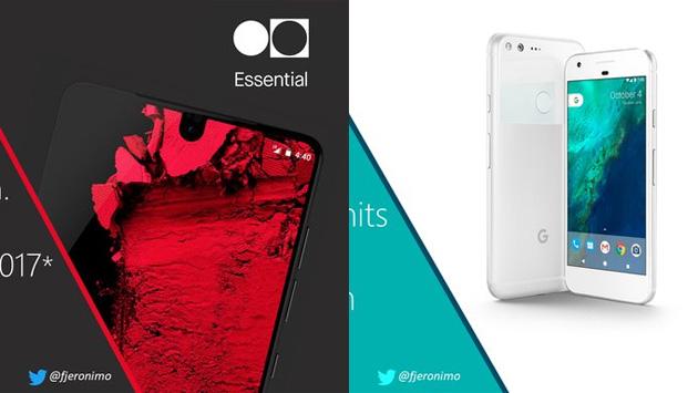IDC per Google Pixel ed Essential Phones nel 2017 stima poche ma buone vendite