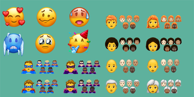 Unicode Emoji 11, 157 nuove emoji arrivano nel 2018