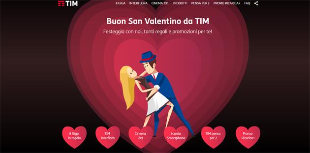 TIM per San Valentino 2018