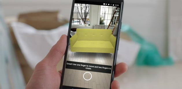 Amazon AR View fa vedere i prodotti dentro casa prima di acquistarli: come funziona
