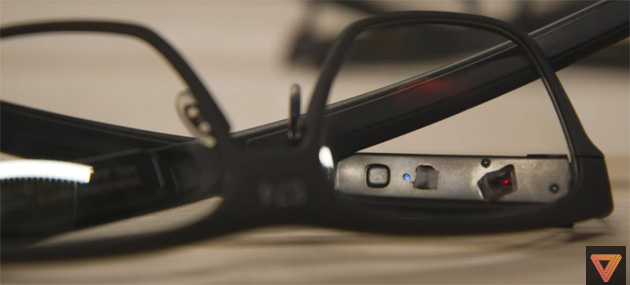 Intel Vaunt, occhiali smart con laser che proietta immagini nella retina