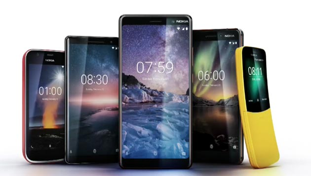 HMD al MWC 2018 annuncia Nokia 1, Nokia 8 Sirocco, Nokia 7 Plus, nuovo Nokia 6 e Nokia 8110 Reloaded