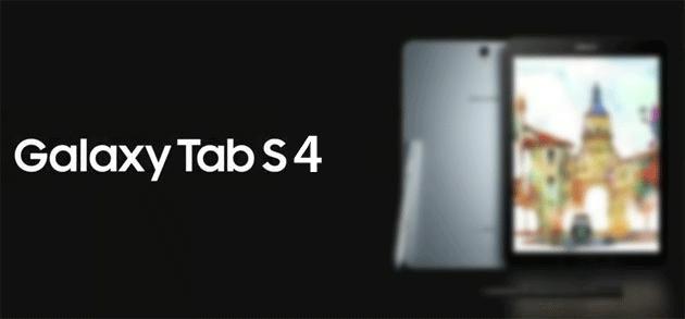 Samsung Galaxy Tab S4 confermato dal sito web di Samsung Francia